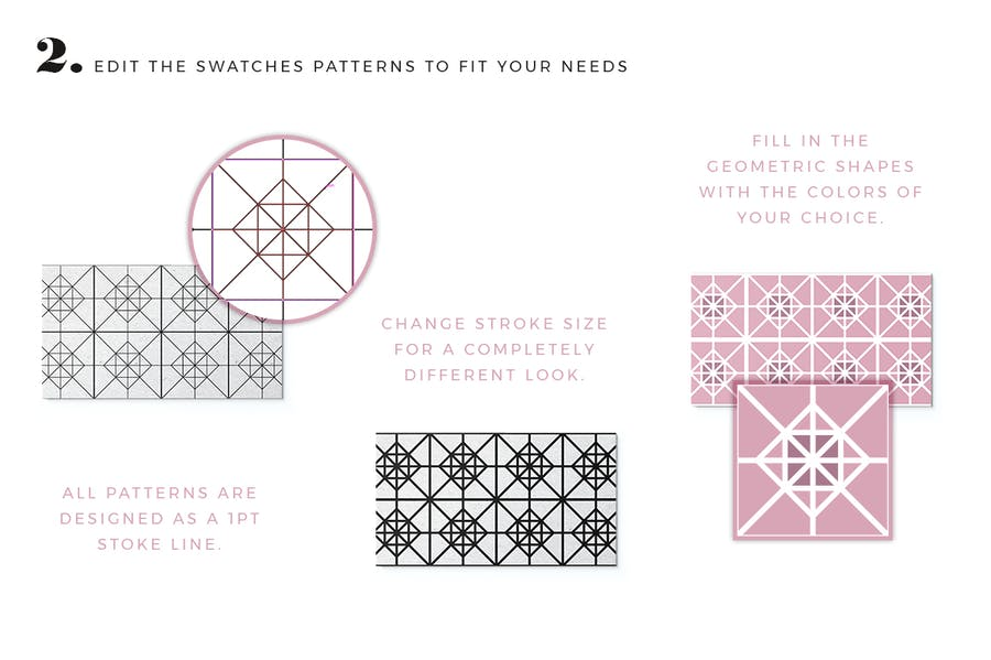100 Tiles Patterns - product preview 2