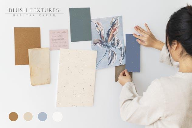 30 Blush Craft Paper Textures