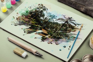 Thumbnail for 50 Watercolor Brushes