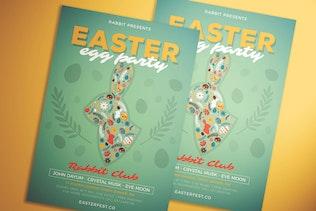 Miniature pour dépliant de fête des œufs de Pâques