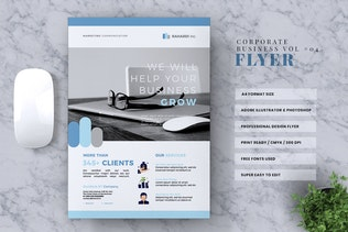 Thumbnail for Corporate Business Flyer Vol. 04