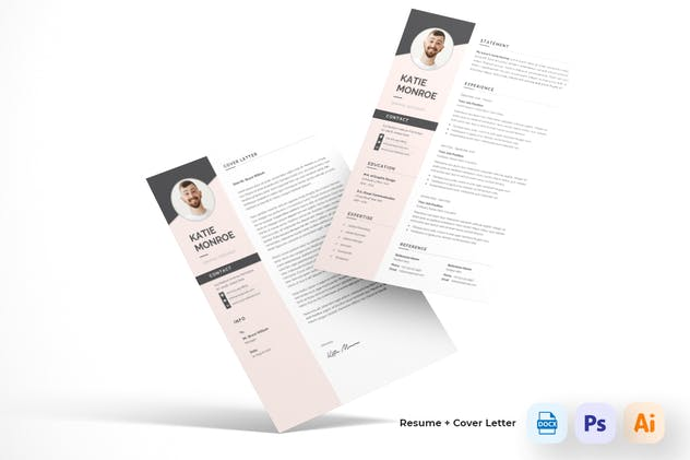 Resume CV - product preview 2