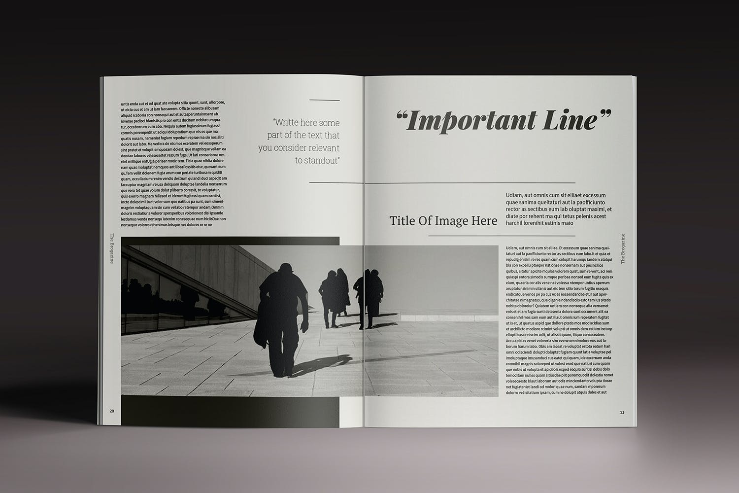 Brogazine Indesign Template by luuqas on Envato Elements