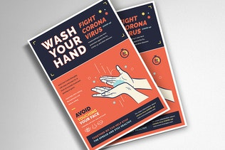Wash your Hand Poster Campaign