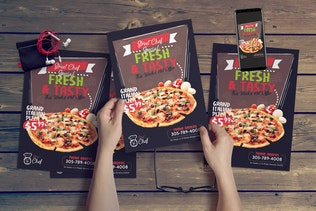 Thumbnail for Fast Food Flyer