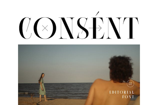 Consent - Editorial Serif Font - product preview 1