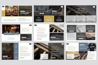 Thumbnail for Avocat - Lawyer Google Slides Template