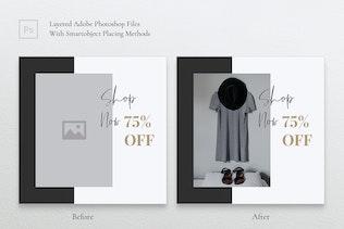 Thumbnail for MEDINE Fashion Instagram & Facebook Post