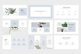 Thumbnail for Contain : Simple & Minimal Business Powerpoint