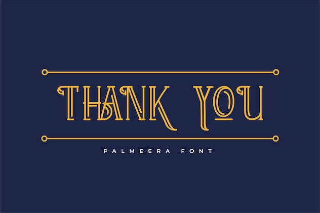 Palmeera | Display Typeface - product preview 0
