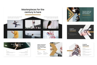 Thumbnail for Magazino - Google Slides Template