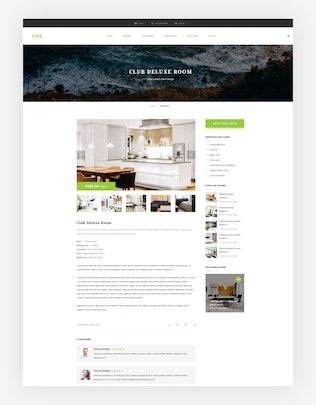 Thumbnail for Pavo - Hotel PSD Template