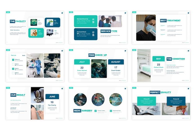 Your Health Presentation Template - product preview 2