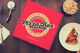 Thumbnail for Pizza Packaging Mockups