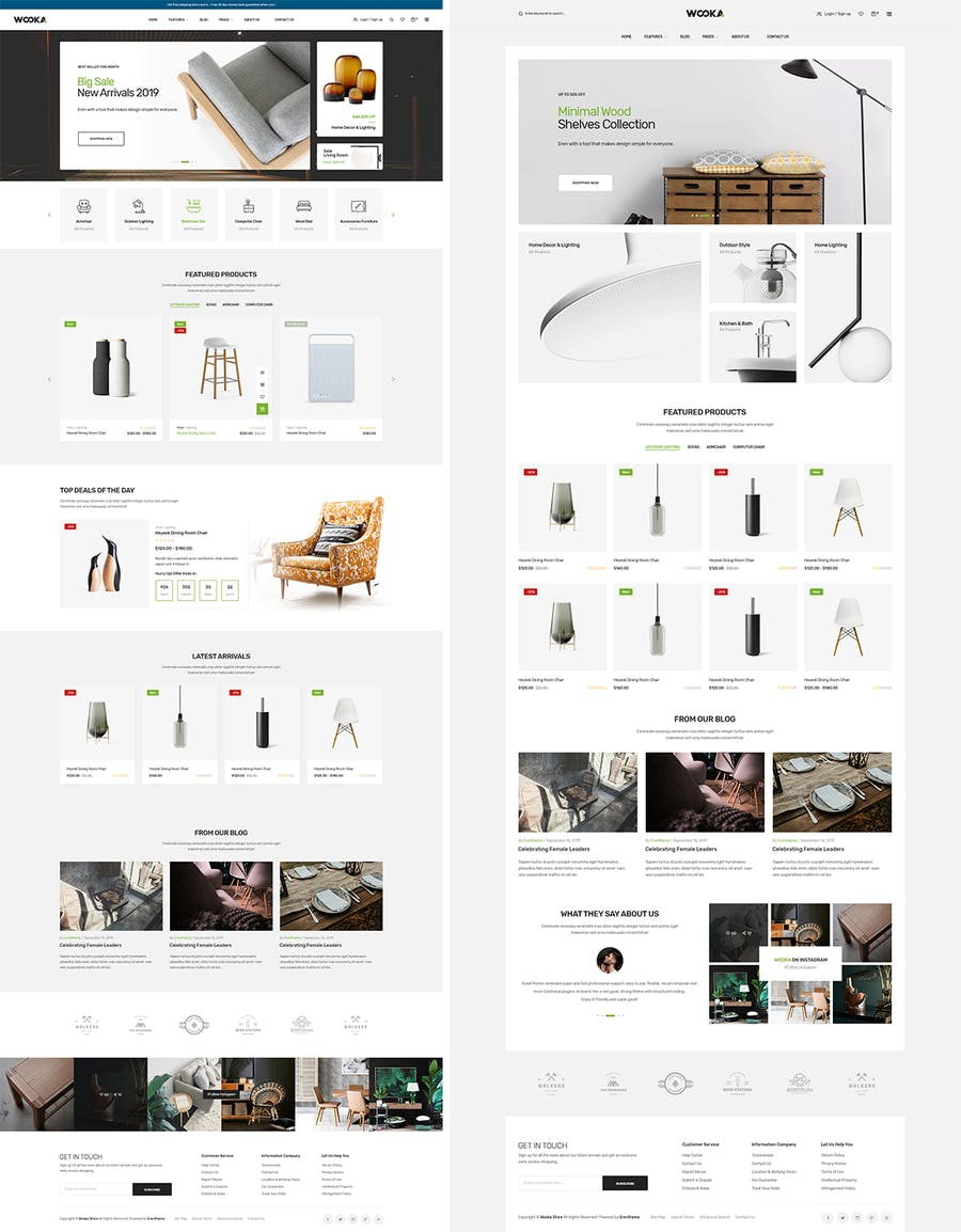 Wooka - Responsive Prestashop 1.7 Theme - product preview 1