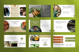 Gardine - Home Gardening Keynote Presentation