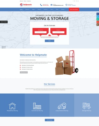 Thumbnail for Helpmate - 6 in 1 Maintenance PSD Template
