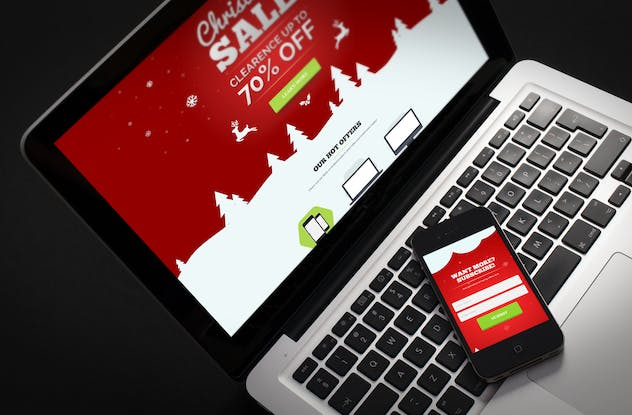 XMuse - Christmas Sale / Promo Muse Template - product preview 0