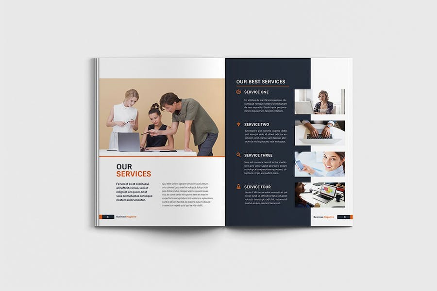 Workfice - A4 Business Brochure Template - product preview 4
