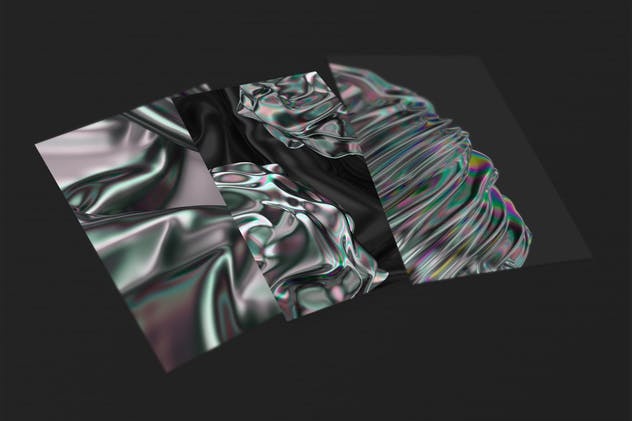 Iridescent Abstract Backgrounds - product preview 2