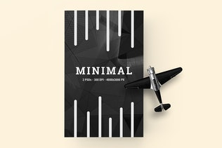 Thumbnail for Bi Fold Brochure (A5) Mockup