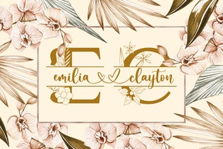 Thumbnail for Mellisa Jonathan - Wedding Font