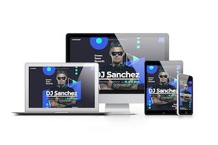 Thumbnail for ProDJ - Creative DJ / Producer Site PSD Template