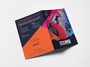 Thumbnail for DJ/ A5 Brochure Template 02