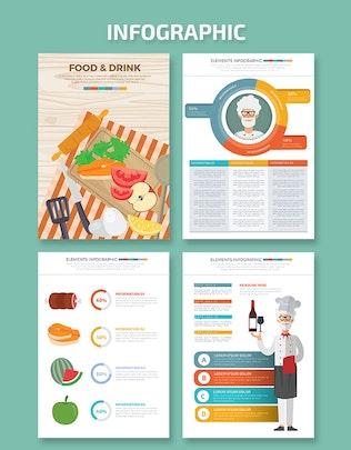 Food & Drink infographic Design