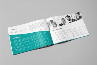 Thumbnail for Mini Brochure – Corporate Landscape A5