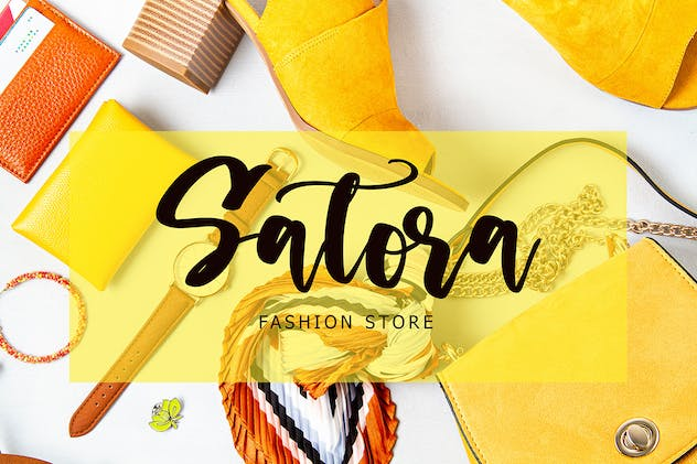 Stellon Brush Font - product preview 4