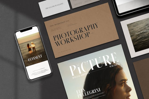 Consent - Editorial Serif Font - product preview 8