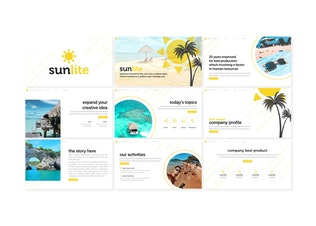 Thumbnail for Sunlite - Powerpoint Template