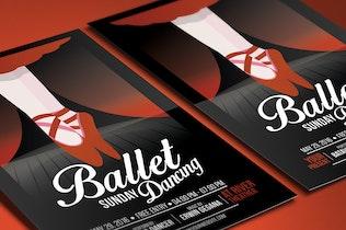 Thumbnail for Ballet Dance Event Flyer