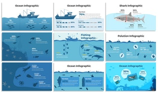 Thumbnail for Oceanic Infographics for Powerpoint Template