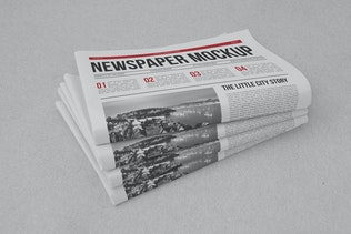 Thumbnail for Newspaper Mock-up