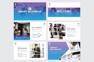 Thumbnail für SMART BUSINESS - Powerpoint V302