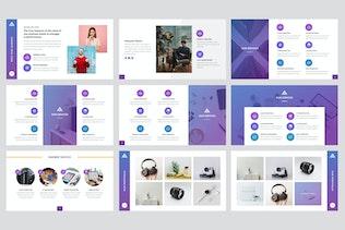 Thumbnail for Informatics - IT Company Google Slides Template