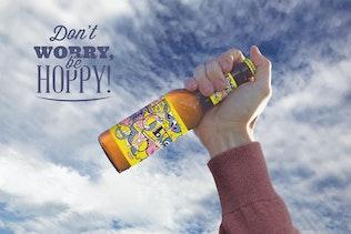 Thumbnail for Hand Sky Beer Mockup