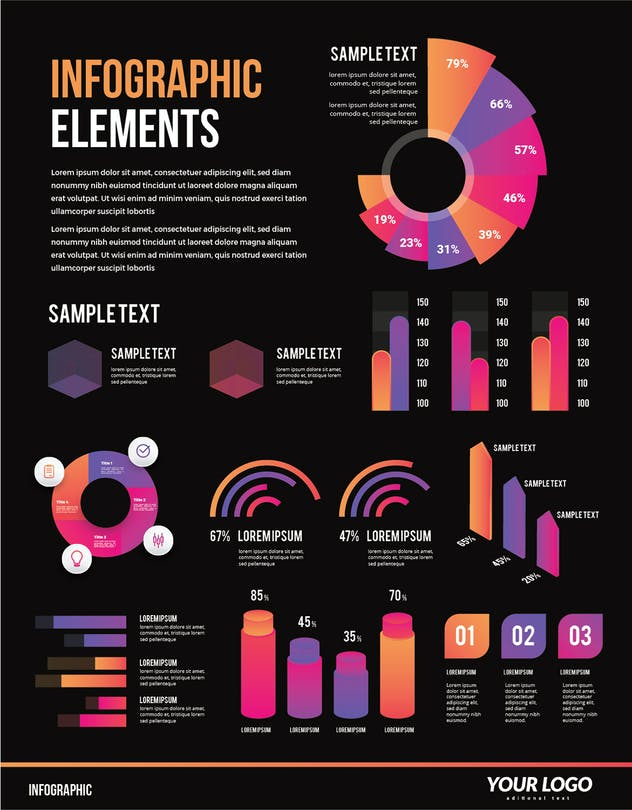 Infographic Examples for Designer V.63 - product preview 1