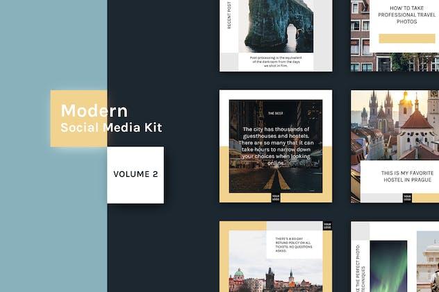 Modern Social Media Kit (Vol. 2) - product preview 1