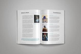 Thumbnail für Indesign MagazinVorlage
