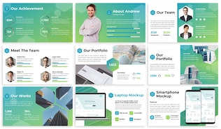Thumbnail for Sigma - Business Keynote Template