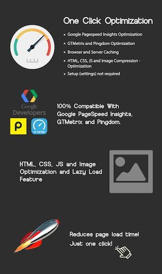 Thumbnail for One Click - WordPress Speed Optimization