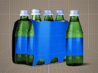 Thumbnail for Drink Bottle &  6 Pack Mock Up V.1