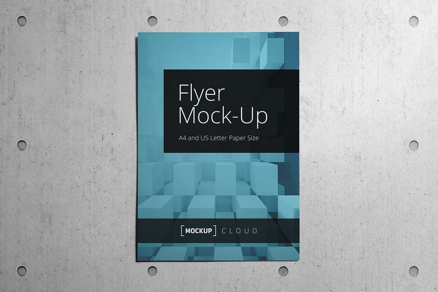 Preview image 5 for Flyer Mockup Set