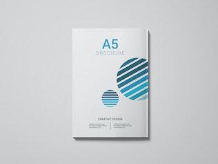 Thumbnail for A5 Magazine Mockup