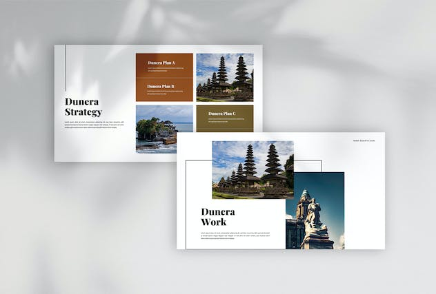 Dunera - Museum Google Slides Template - product preview 1