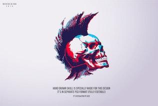 Thumbnail for Funky Halloween Poster & Flyer v6