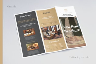 Thumbnail for Law Firm Trifold brochure